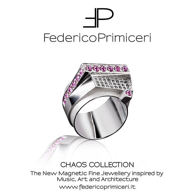 #CHAOS. What else?  The new magnetic fine jewellery collection by @federicoprimiceri_official @federicoprimiceri inspired by Music, Art and Architecture. Awesome pinky finger ring for #men with rubies and black diamonds by Federico Primiceri available in Florence at @luisaviaroma , online on www.luisaviaroma.com and in Lecce at Federico Primiceri fine jewellery luxury boutique. #FedericoPrimiceri #FineJewellery #ChaosCollection #Music #Art #Architecture #Florence #Lecce #LVR #LuisaViaRoma…