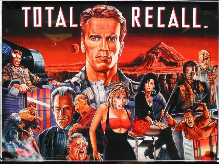 Woah! This is one hell of a #TotalRecall (1990) poster by Reginald Juice