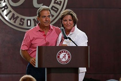 Alabama coach Nick Saban is a good guy. Seriously, he is. His public persona is not who he is.