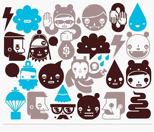 Extraordinary Sticker Designs For Brainwave