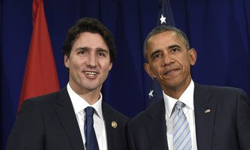 Justin Trudeau Seeks Closer Ties While There's A Like Mind In The White House http://www.huffingtonpost.com/entry/justin-trudeau-barack-obama-washington-visit_us_56df6673e4b0860f99d7116a?