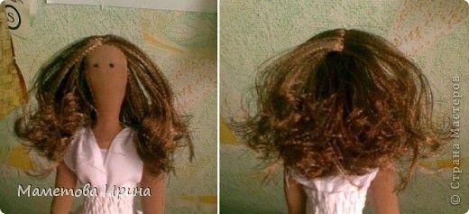 Mimin Dolls: tutorial cabelo castanho