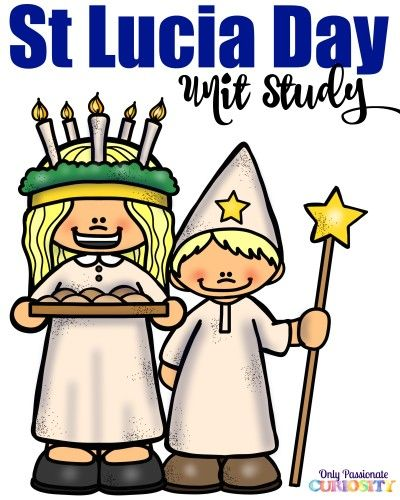 FREE St. Lucia Day Christmas Printable Unit Study