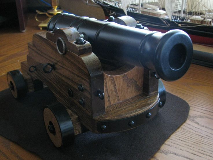 how to build a black powder cannon