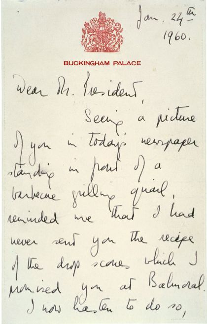 ... Powerful Letters From History | The Queen, Presidents and Queen