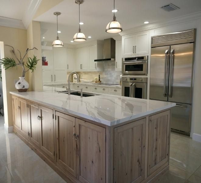 Image Result For Driftwood Cabinets Peninsula Kitchen Design Driftwood Kitchen Kitchen Design