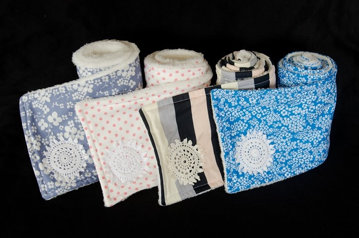 Gorgeous, soft scarves in trendy girly fabrics!