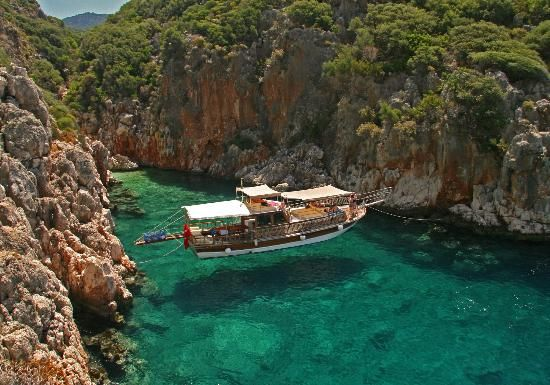 Batin Boat Tour out of Kas, Turkey