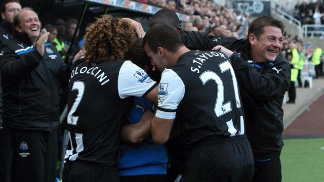 Newcastle 1 - 0 Wigan