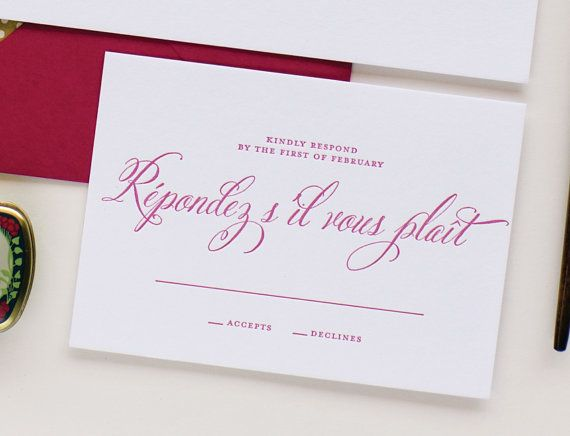 Amelia Wedding Invitation Suite Thank You note designed by Lauren - best of wedding invitation design fonts
