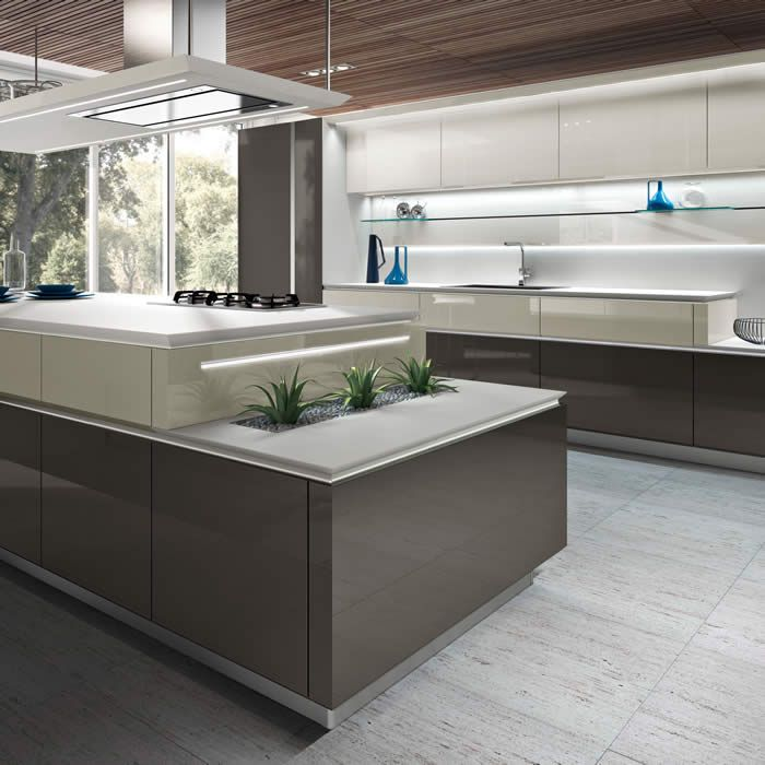 Kitchen CounterTops With Built In Planter Space On Ends. Seen @ European  Kitchen Design Ideas 2012