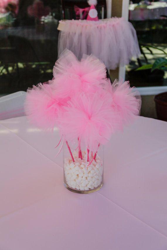 Tutu Wands, Tutu Party Favor, Tutu Party, Ballerina Party, Pink Tutu, Princess Party Favors, Tutus on Etsy