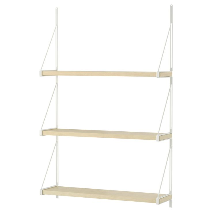 EKBY JÄRPEN/EKBY GÄLLÖ Wall shelf - IKEA// to hang in the kitchen to give us places to by spices and such $37.97