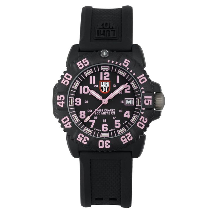 Luminox Women's Pink Navy Seal EVO Colormark Watch