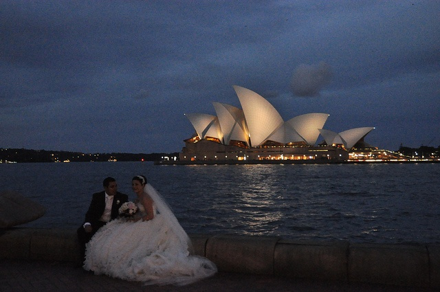 Sydney - Opera House after the wedding by Flickr user Dimitri Bianchi, 2010