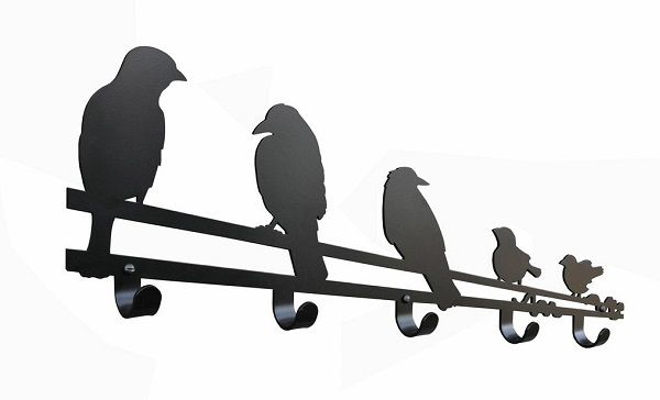 Riput Metal hooks, great indoors or out for those bird and garden lovers, something a liitle different.