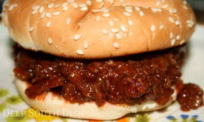 Crockpot Barbecue Beef for Sandwiches Prep time: 10 min |Cook time: 7