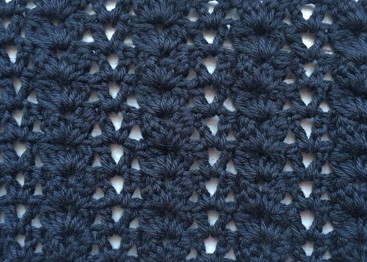Shell stitch mønster 1 Hækle, hæklet, hækling, hækleopskrifter, hækling for begyndere, hæklemønstre, billede guide, masker, hækle forklaring, hæklede