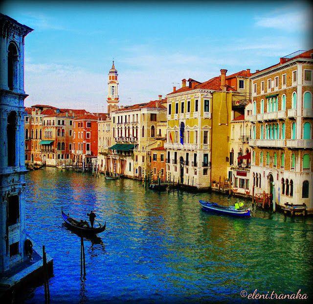 Ελένη Τράνακα: Ιταλία, Βενετία - Italy, Venezia