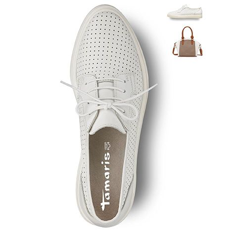 #sneaker, #white, #summer #2016 #shoes, #trend, #perfect #piece #tamaris