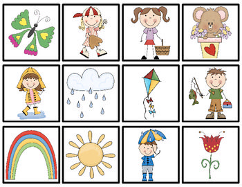 Freebie: Spring Memory is a fun memory and matching activity for your students! Your children will love playing Spring Memory at a center or in small groups. Have fun!