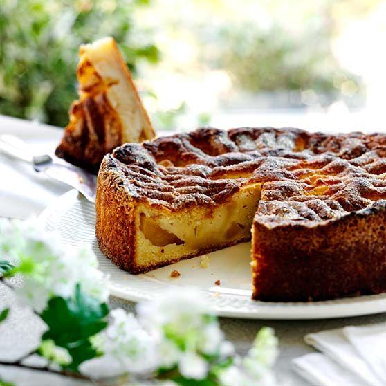 Äppelkaka recept - den klassiska äppelkakan - Dansukker