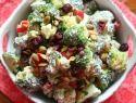 Skinny broccoli salad