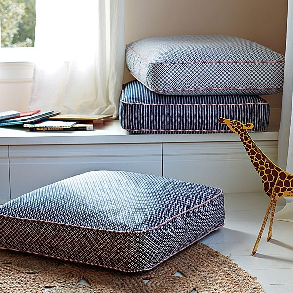 Recover cushions - for floor, window seat etc