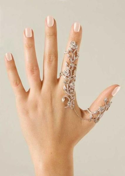 Amazingly Gorgeous Flower Crystal Stacking Rings