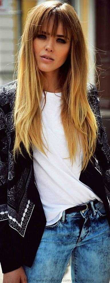 long hair fringe styles 25 best ideas about bangs hair on 4688 | 8dc1f7891aa81be63c013356494a7508