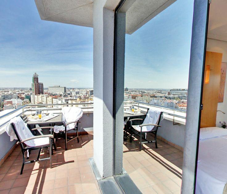 abba Madrid Hotel****S - Hotel in Madrid - Terrace