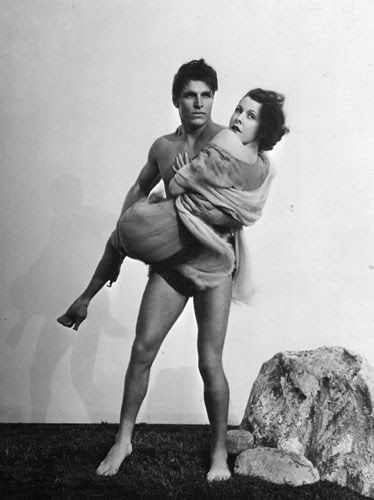 "Vintage Glamour Girls: Frances Dee & Larry Grabbe in "" King Of The Jungle..."