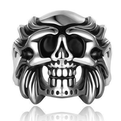 Just US$5.33, buy Skull Shape Alloy Ring online shopping at GearBest.com Mobile.