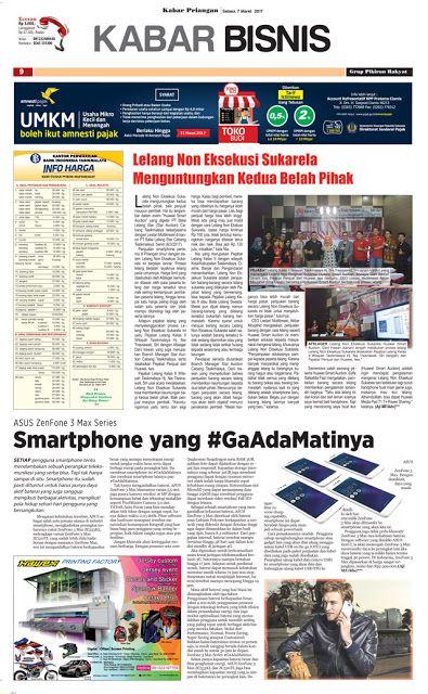 Layout Kabar Priangan Halaman Kabar Bisnis, Selasa 7 Maret 2017 | LAYOUT KABAR PRIANGAN
