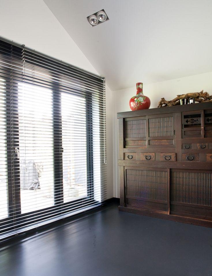 Huis met raambekleding om te smullen