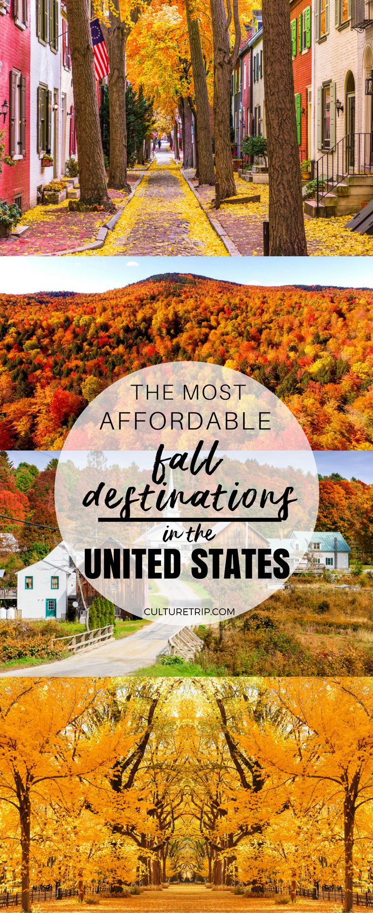 The Most Affordable Fall Vacation Destinations in the United States|Pinterest: theculturetrip