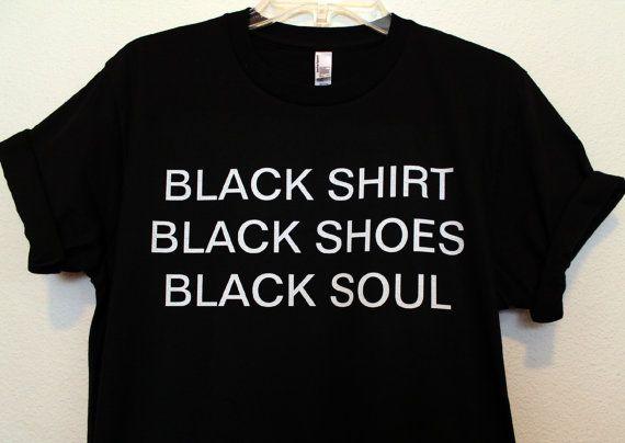 black everything shirt by wildblacksheep