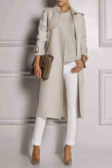 Love sleekness of this and neutral with white is one of my fave combos. Luv to Look | Curating Fashion & Style