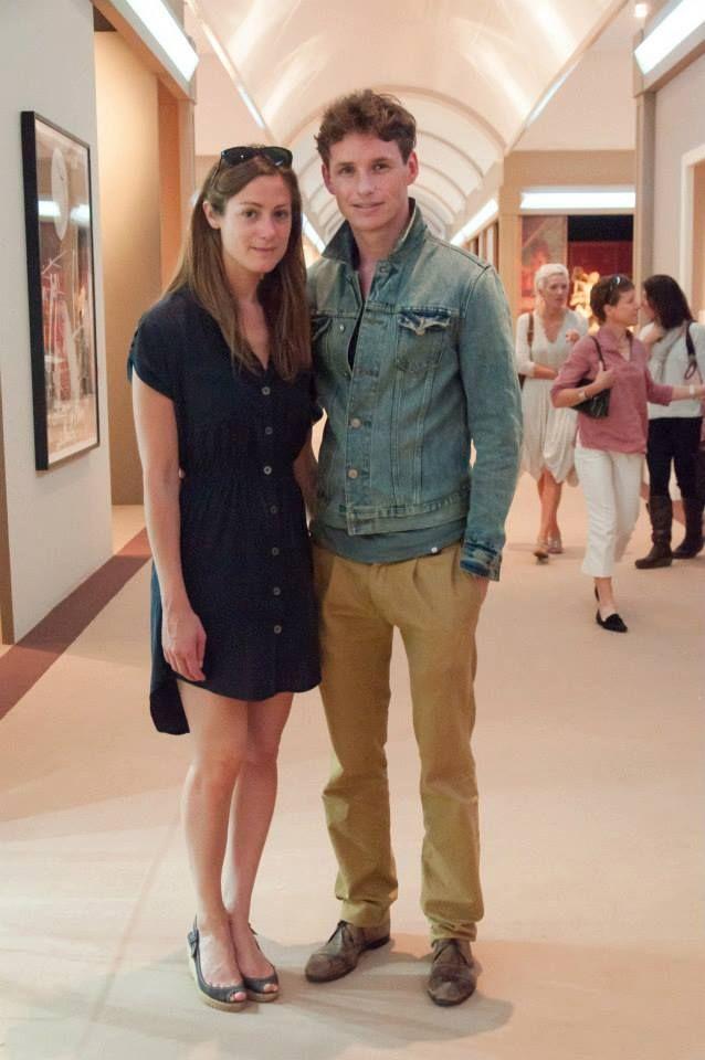 Eddie Redmayne & Hannah Bagshawe at Masterpiece London 2013