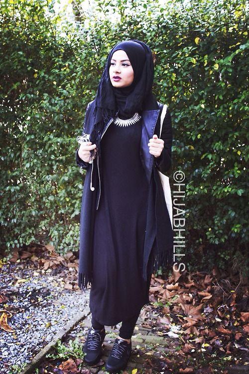 All black everything! | HijabHills