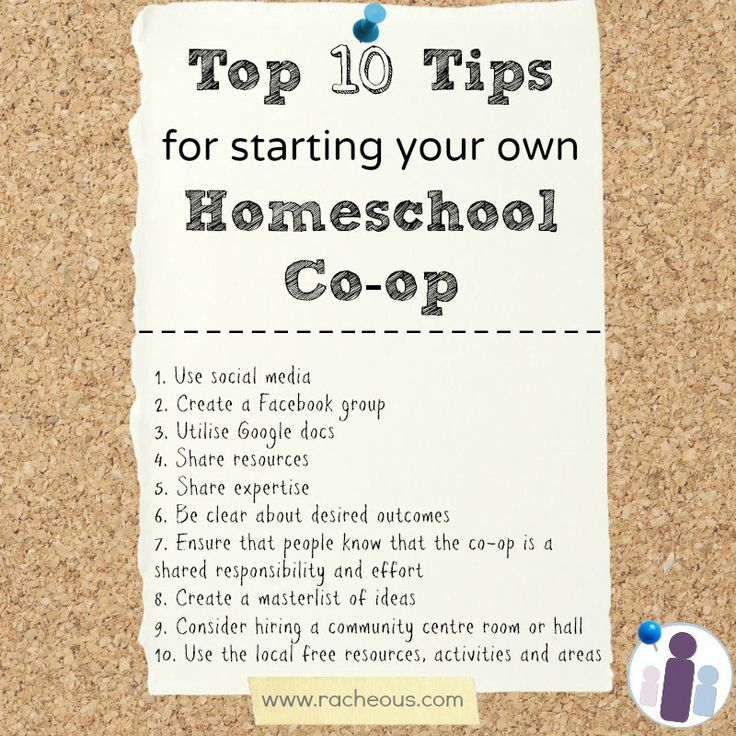 Homeschool Co-op: What, Why, How? - Racheous - Lovable Learning