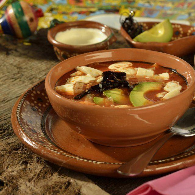 Sopa Azteca Original