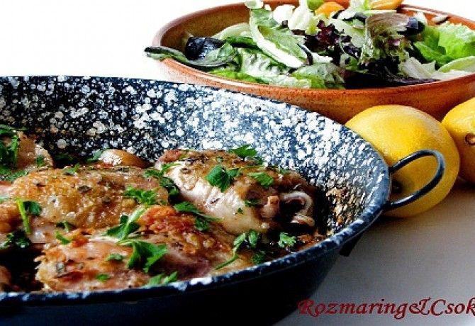 Citromos csirke Mamma Agata konyhájából