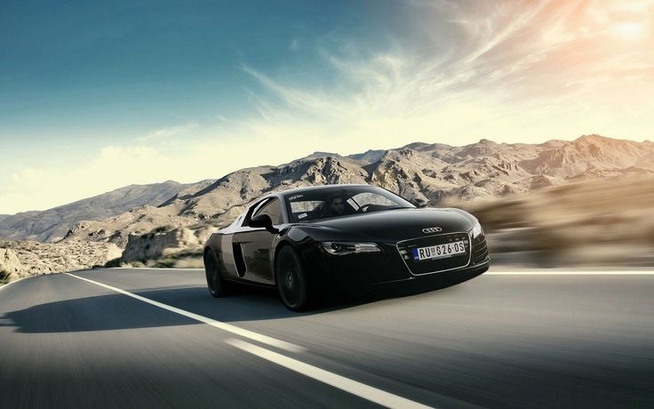 Awesome Audi R8 Convertible Wallpaper