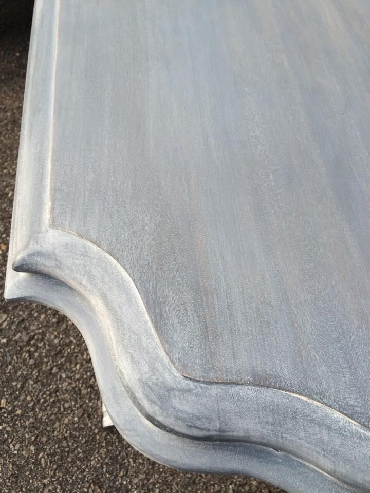 Table in Gray Gel Stain | General Finishes Design Center