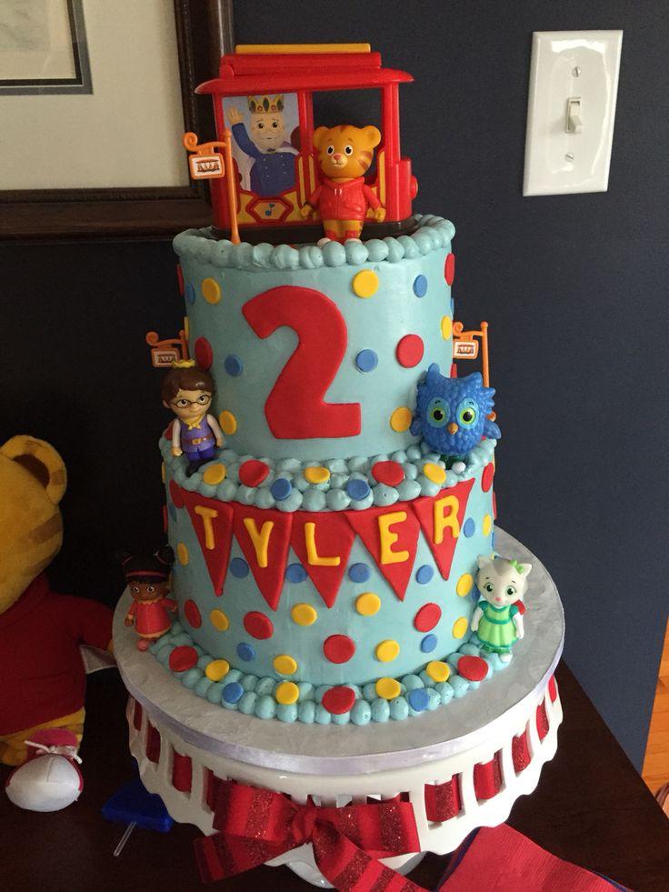 Daniel Tiger Party Cake Kiddie Stuff Pinterest