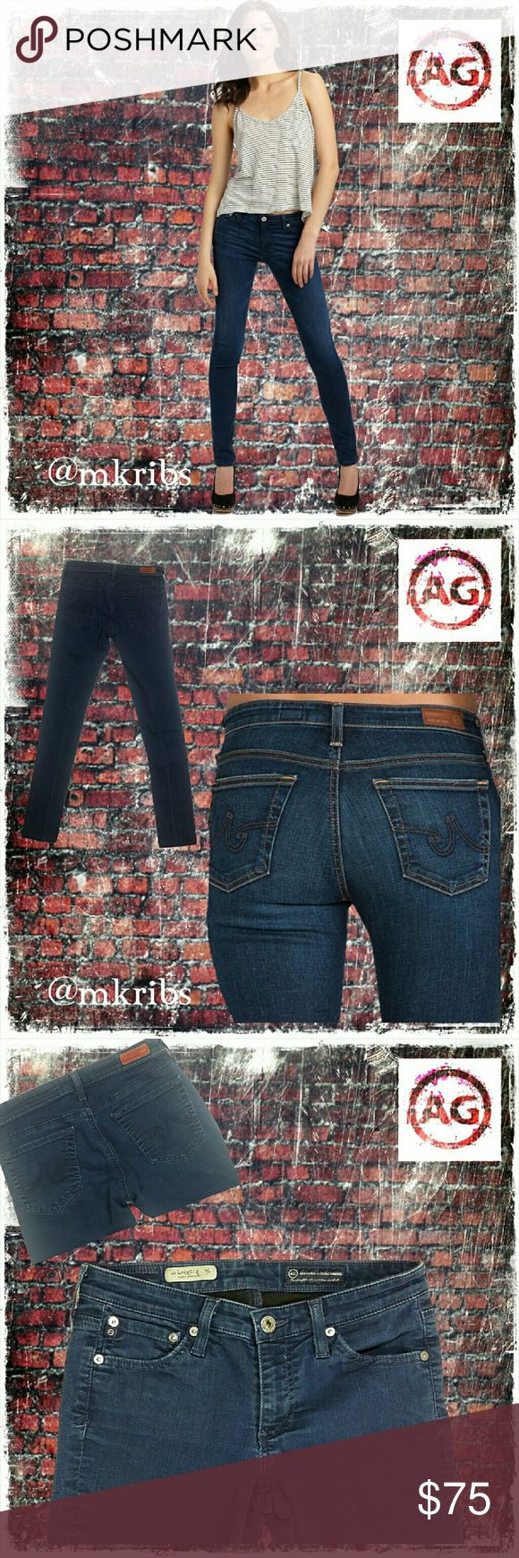 AG The Legging skinny stretch jean Adriano Goldschmied 'The Legging Super Skinny Jean' with stretch size 26 regular. See photos above. NO TRADES PLEASE! OFFERS WELCOME THROUGH OFFER FEATURE ONLY PLEASE! AG Adriano Goldschmied Jeans Skinny