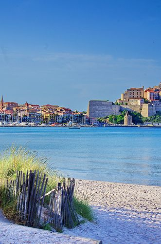 La ville de Calvi en #Corse
