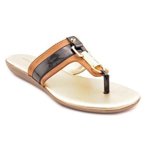 Bandolino Women's Jillian Wedge Sandal,Natural/Black,8.5 M US BANDOLINO,http