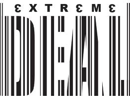 Typo In Barcode Style 2